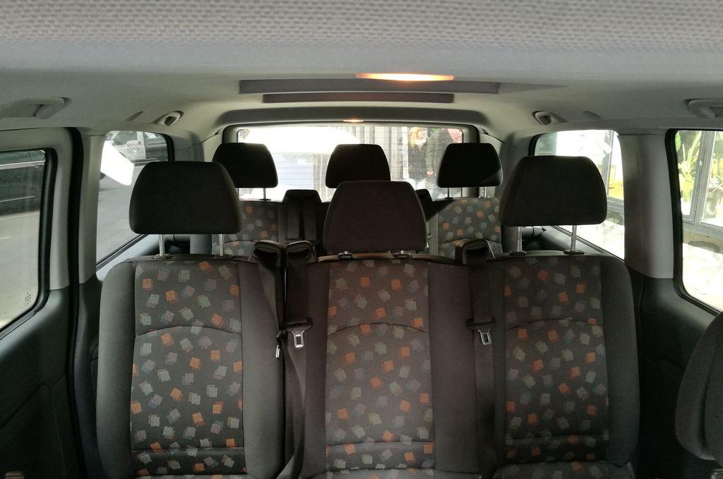 Mercedes Vito Standard belső